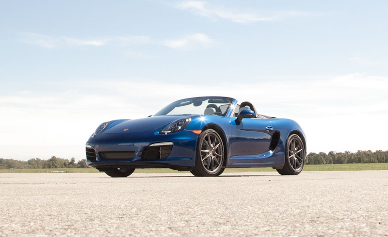 2013 porsche boxster owners manual