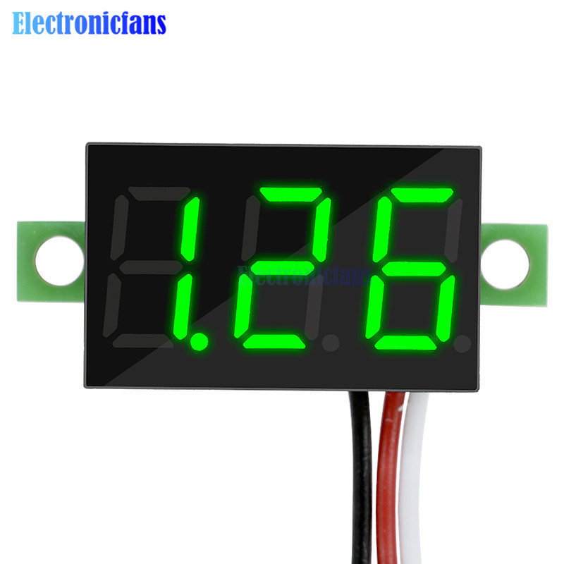 2 wire green dc 3.5-30v led manual