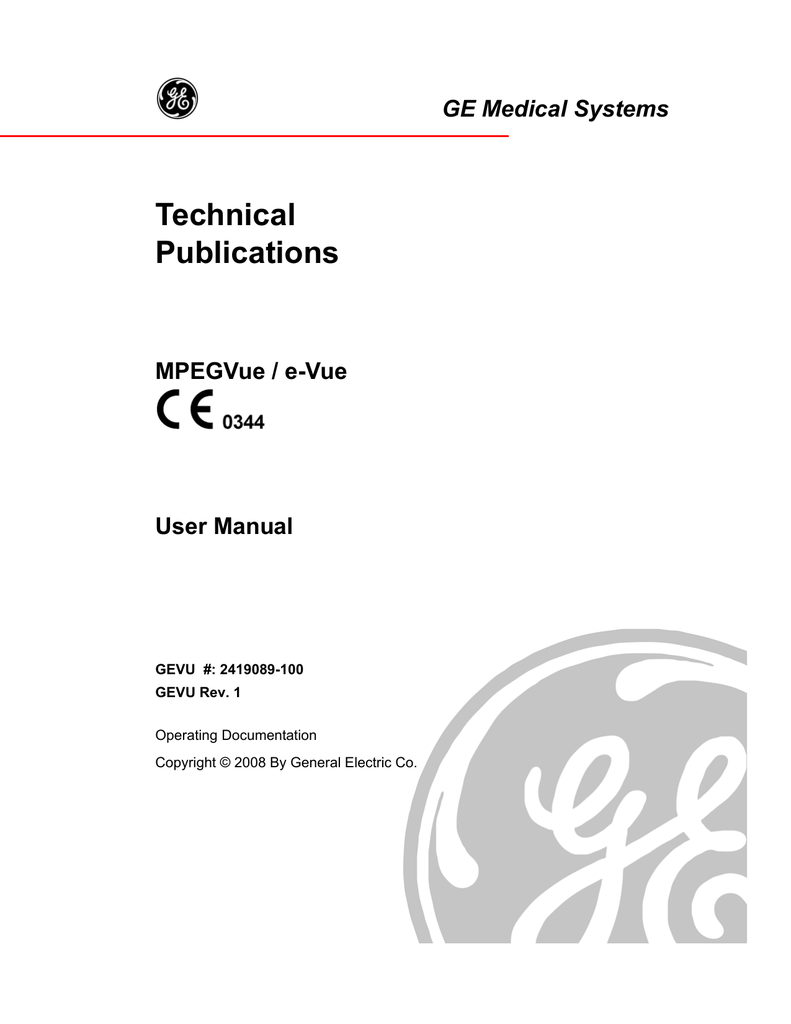 ge vivid s5 user manual