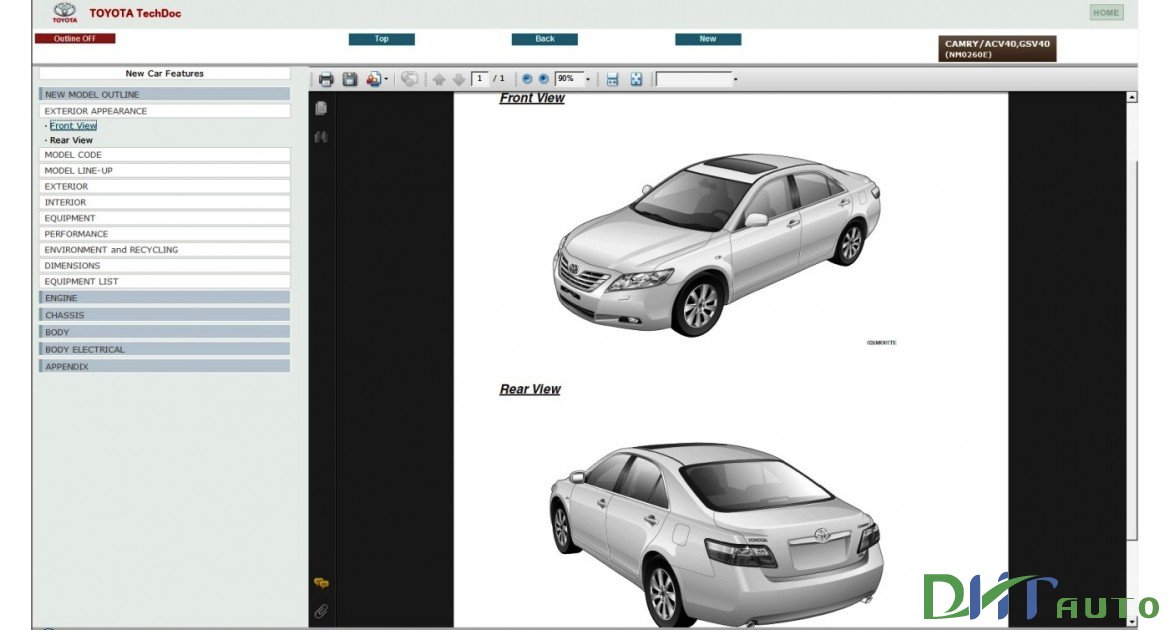 2010 toyota camry service manual