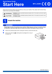 brother mfc j430w user manual