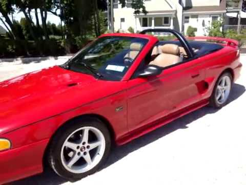 1994 ford mustang gt convertible owners manual