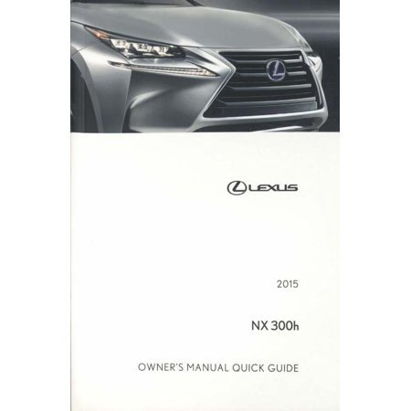 lexus nx 300h owners manual