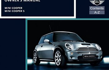mini cooper s owners manual 2006